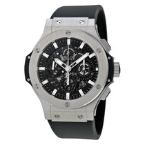 ウブロ (Hublot) Big Bang Aero Bang Steel Black Dial Automatic...