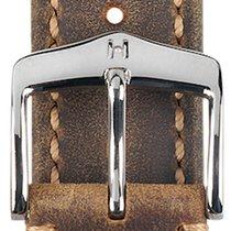 Hirsch Heritage Artisan L Lederband goldbraun 20mm 05033070-2-20