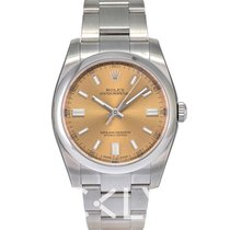 劳力士  (Rolex) Oyster Perpetual White grape/Steel 36mm - 116000