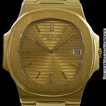 Patek Philippe Jumbo Nautilus 3700/11 18k Gold Dial