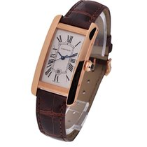 Cartier W2620030 Tank Americaine Medium Size - Rose Gold on...