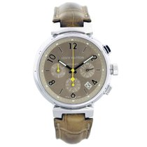 Louis Vuitton Q1122 Tambour Chronograph Mens Watch