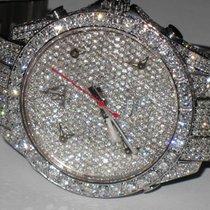 Jacob & Co. JC 47MM 5 Time Zone Stainless Steel Diamonds