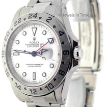 Rolex Explorer II 40mm Stainless Steel White Dial Automatic...