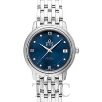 Omega De Ville Prestige Quartz Blue Steel Dia 27.4mm -...