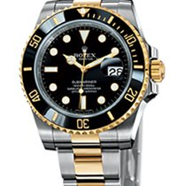 勞力士 (Rolex) Submariner Date 40mm Steel and Yellow Gold Ceramic