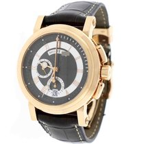 Breguet Marine Chronograph Gold 44MM Roman Dial Box&Papers...