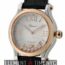 Chopard Happy Sport Medium Automatic 36mm Steel & Rose...
