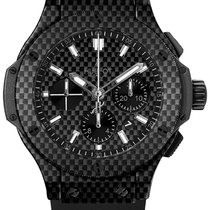 Hublot Big Bang Carbon Rubber Chronograph Men`s Watch