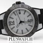 Bulgari DIAGONO MAGNESIUM 41MM GRIGIO CHIARO-LIGHT GREY NEW 2092