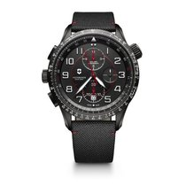 Victorinox Swiss Army Airboss Match 9 Black PVD steel, date,...