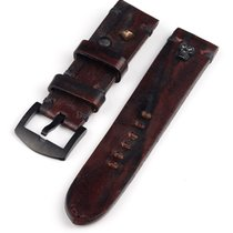 Γιου Μποτ (U-Boat) Vintage Kalbsleder Ersatzband -scull- braun...