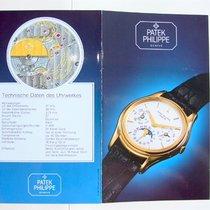 Patek Philippe Datenblatt & Beschreibung zu der Ref. 3940