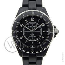 Chanel J12 Automatic Black Mat New - Full set
