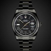 TBlack Rolex Datejust II Nero