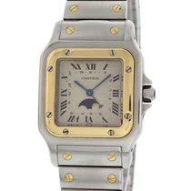 Cartier Santos Moonphase 18K YG & SS 119901