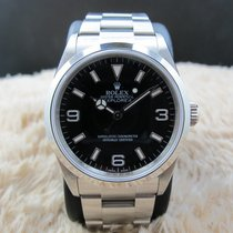 Rolex EXPLORER 1 114270 Black Dial (with inner ring engraving)