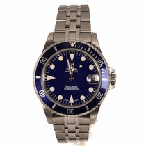 Tudor Submariner Prince Date Blue Dial Watch 75190 (Pre-Owned)