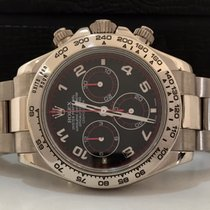 Rolex Daytona Full White Gold Racing Dial Completíssimo