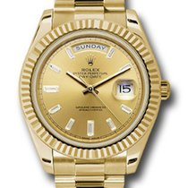 Rolex Unworn 228238CHBDP Day Date 40mm Automatic inYellow Gold...