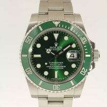 Rolex Submariner Date LV / Hulk from 2010 with box and papers