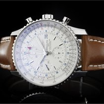Breitling Navitimer World (46mm) Ref.: A2432212/G571 mit Box...