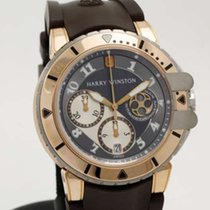 Harry Winston Ocean Diver Z2 Chronograph 18k rose gold /...