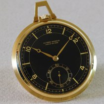 Ulysse Nardin Gold Dress Watch with black dial