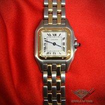 Cartier Panthere 22mm 18k Yellow Gold/Steel Ladies Quartz Watch