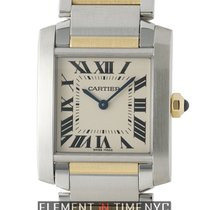 Cartier Tank Collection Tank Francaise Medium 25mm Steel &...