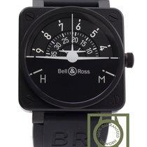 Bell & Ross Black BR 01 92 Turn Coordinator Horizon...