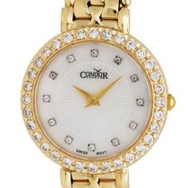 Condor 14kt Gold & Diamond Womens Luxury Swiss Watch...