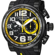 Graham 2BLDC.B28A Silverstone StoweRacing Men Black Rubber...
