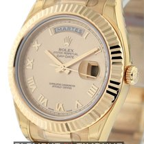 Rolex Day-Date II President 18k Rose Gold Pink Champagne Dial