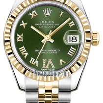 Rolex Datejust 31mm Stainless Steel and Yellow Gold 178273...