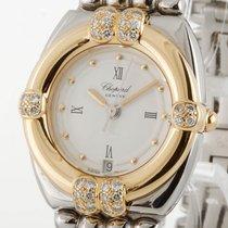 Chopard Gstaad Lady mit Diamanten Quarz 18kt Gelbgold/Stahl...