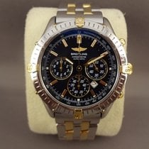 Breitling Windrider Shadow Flyback steel/gold 36mm