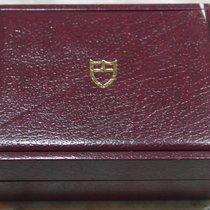 Tudor rare vintage watch box leather burgundy for 79170/790180