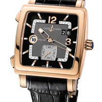 Ulysse Nardin Quadrato Dual Time Rose Gold
