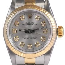 Rolex Ladies' Oyster Perpetual Steel and Gold Watch,...