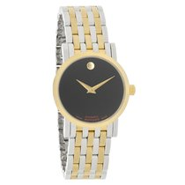 Movado Red Label Museum Ladies Swiss Automatic Watch 0607011