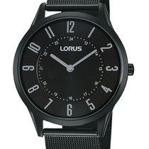 Lorus RTA57AX9 flache Unisex-Uhr 38mm schwarz 30M