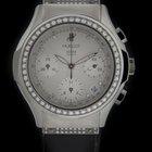 Hublot Steel Elegant Chronograph Diamond Watch 1810.444.1.054
