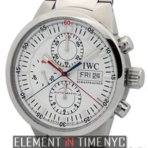 IWC GST Collection GST Split Second Chronograph Steel White Dial