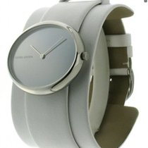 Georg Jensen Vivianne 322 Steel/Leather Quartz