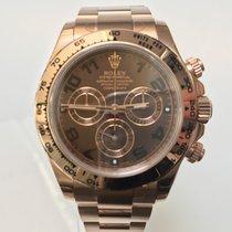 Rolex Daytona Rose Gold Choco Dial • NEU • EU • BTC •