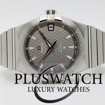 Omega Constellation Omega Co-Axial  38mm Grey Dial T