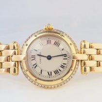 Cartier Panthere Ladies 18k Yellow Gold Original Diamond Set