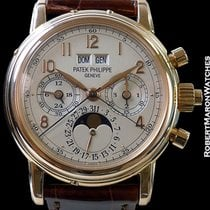 Patek Philippe 5004r 18k Rose Perpetual Calendar Split-seconds...