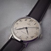 Omega vintage Geneve cal 601, serviced,  rare arabic number dial